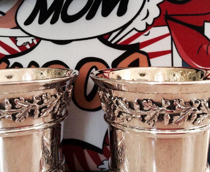 Tra modernità e tradizione #peppinocapuanojewelry#bicchieri#argento#silver#cesellati#handmade#wedding#listedinozze#madeinitaly#stile#eleganza#gustoesaporediuntempo#bestoftheday