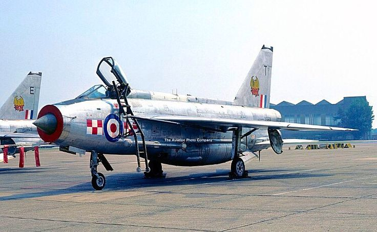 A Royal Air Force 56 Squadron Electric Lightning 5.6.