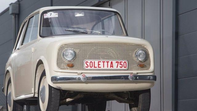 Swiss car Soletta 750, 1956