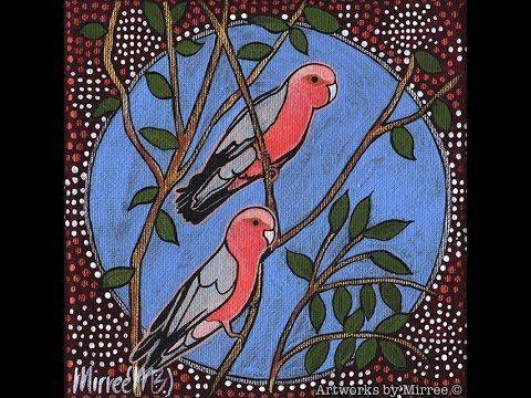 Pink Galah Dreaming by Mirree