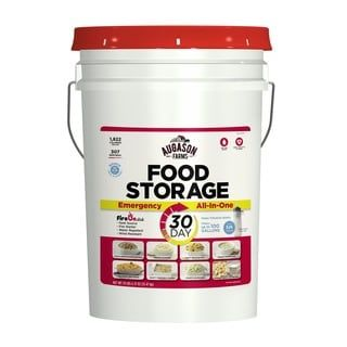 Shop for Augason Farms 30-Day All-In-One Emergency Food Storage Pail with Survival Gear. Get free delivery at Overstock.com - Your Online Food Storage Store! Get 5% in rewards with Club O! - 14149572