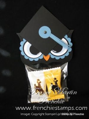 Stamp & Scrap with Frenchie: Grad Owl Video