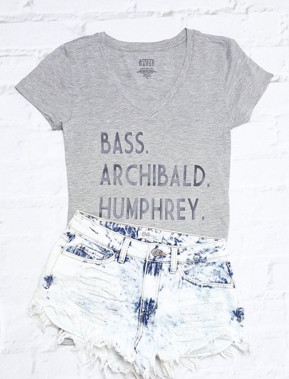 Gossip Girl Graphic Tee: Bass Archibald by AbigailRileyDesigns