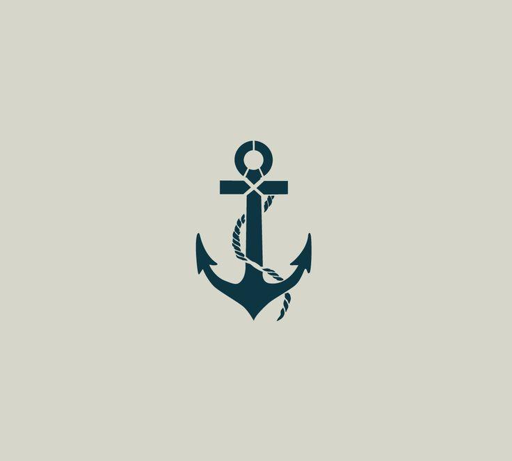 Pochoir d'ancre. Ancre de marine (ref 97-4)