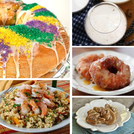 King Cake - more Fat Tuesday Recipes - and fun facts!