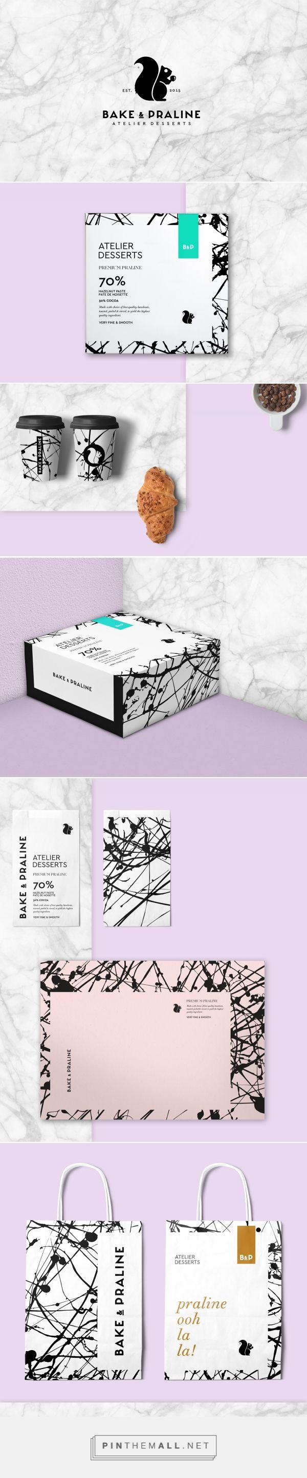 Bake & Praline Branding on Behance | Fivestar Branding – Design and…