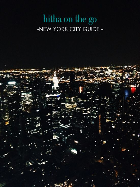 My favorite NYC spots // http://www.hithaonthego.com/new-york-city-guide/