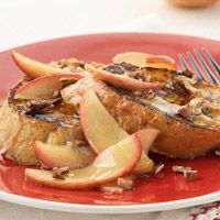 Maple-Apple Drenched French Toast: Drench French, Maple Apples Drench, Diabetic Living, French Toast, High Fiber Recipe, Diabetes Living, Diabetes Recipe, Diabetes Friends, Breakfast Recipe