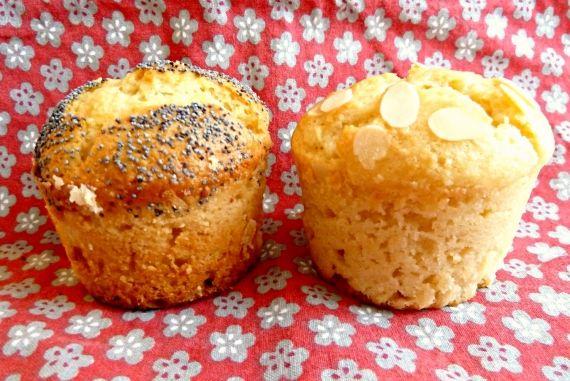 Muffins citron amande