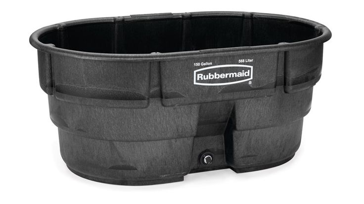 Stock tanks stock tank 150 gal rubbermaid commercial