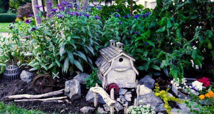 17 Appealing Garden Fairy Outdoor Ideas