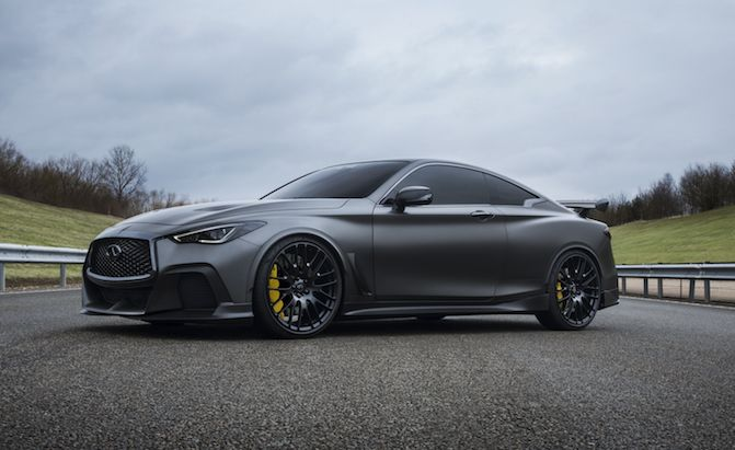 500 Hp Infiniti Q60 Black S May Reach Production By 2020 Infiniti Infiniti Q50 Red Sport Infiniti Q