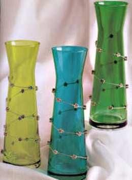 Decorating With Beads And Wire Decorate Your Vases With