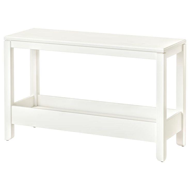 """havsta console table white 39 38x13 34x24 34""""  ikea"""