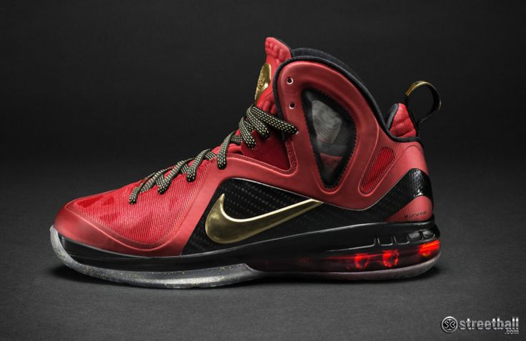New LeBron James - LeBron 9 MVP basketball shoes by Nike now featured on Streetball.