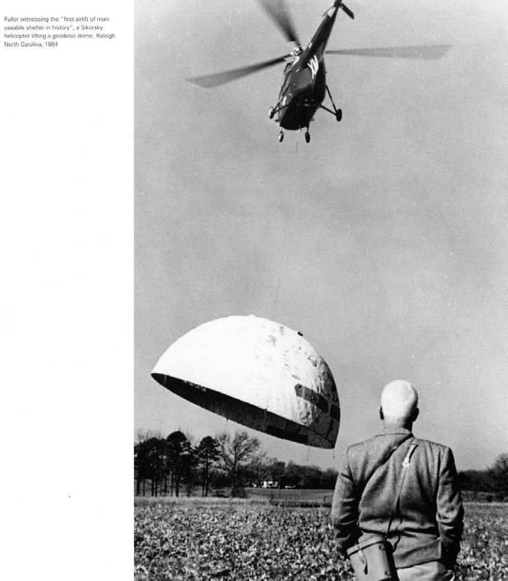 Geodesic Dome Delivery | Buckminster Fuller. Raleigh, NC 1954: Geodesic Domes Home, Carolina Corps, Raleigh Nc, Buckminster Fuller, Skybreak Carolina, Things Bucky, Architecture, Nc 1954, Bucky Fuller