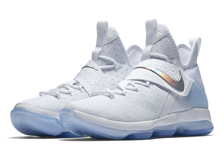 "Earlier this week we took a look at the ""Time To Shine"" collection from Nike Basketball for March Madness including clean colorways with iridescent accents for the PG1, Kyrie 3, and KD 9 Elite, and it looks like the LeBron … Continue reading →"