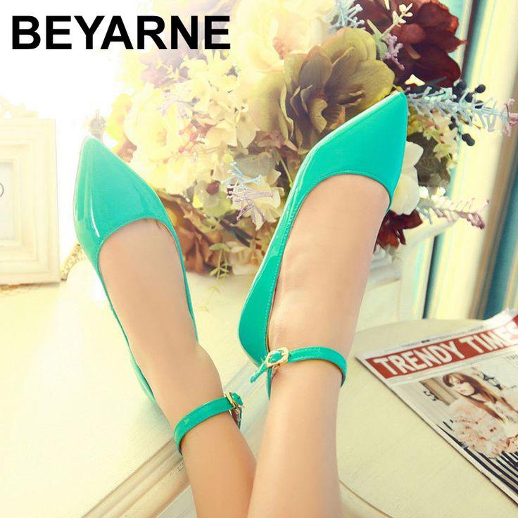 Купить товарБесплатная доставка 6 цветов сплошной цвет патент PU женская обувь конфеты цвета плоские туфли балетные туфли принцессы для повседневной размера 35 42 в категории Обувь на плоской подошвена AliExpress. Бесплатная доставка 6 цветов сплошной цвет патент PU женская обувь конфеты цвета плоские туфли балетные туфли принцессы для повседневной размера 35-42