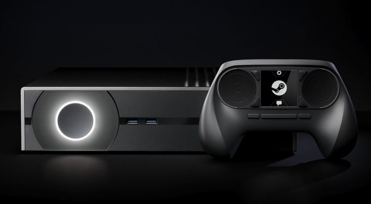 Not that I have the time or anything, but it is pretty! The Steam Machine, Valve's game console of the future.