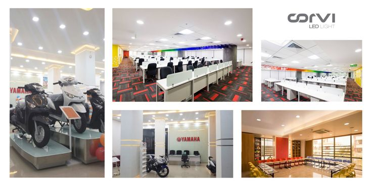 Twenty-first century, here we come.  Technology is advancing the commercial lighting space like never been before.   #Corvi #LED #Light ... Lighting offices in India. #CorviLEDLight