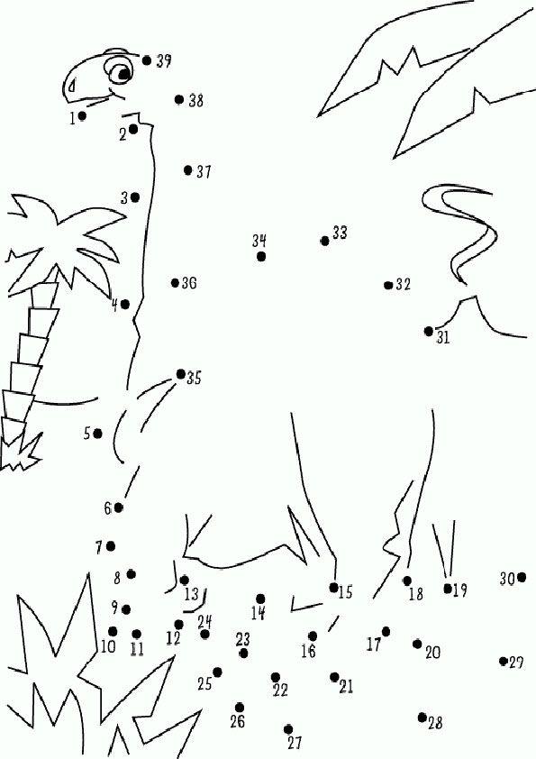 Zahlenbilder zum Malen – Ausmalbilder für kinder