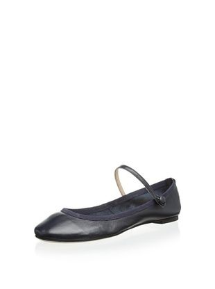 55% OFF Modern Fiction Women's Mary Jane Ballerina Flat (Navy blue)
