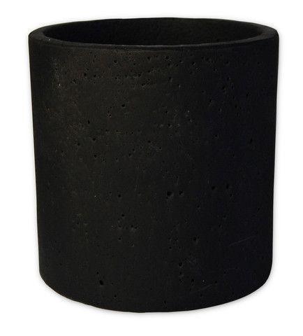 Zakkia Concrete Pot - Black – THAT LITTLE SHOP