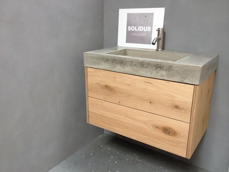 Hout En Beton : Wit hout en beton eetkamer hoek toned u stockfoto denisismagilov