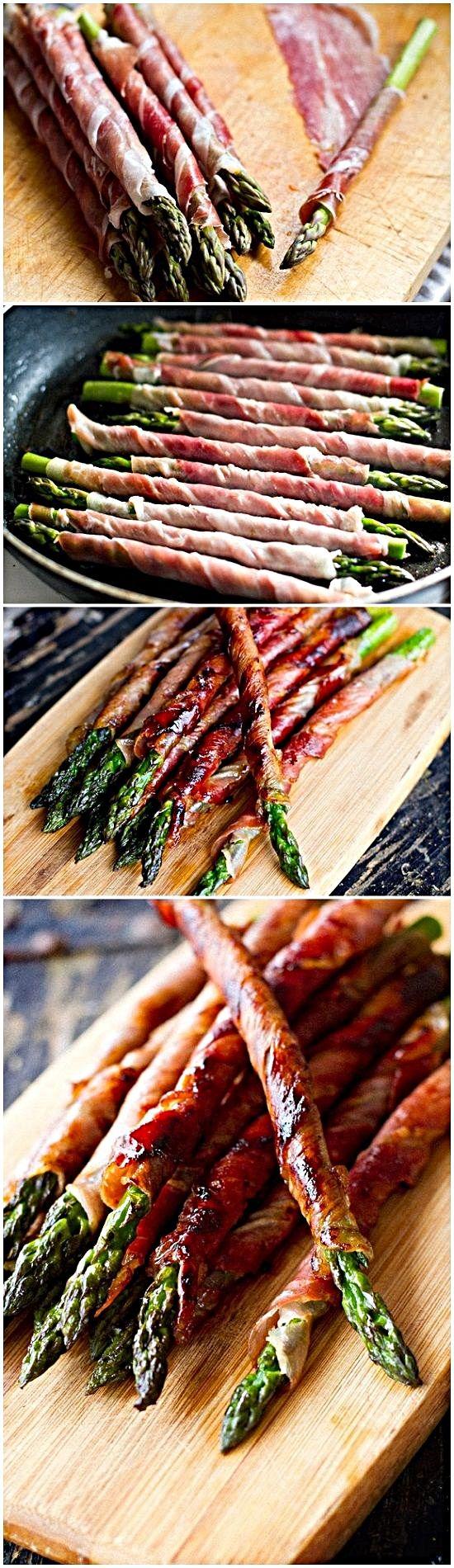 Prosciutto Wrapped Asparagus – simple enough!