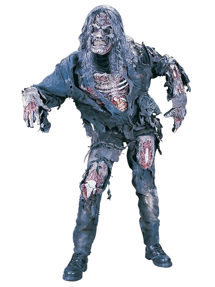 adult complete 3d zombie costume