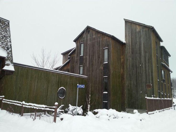 Rivermill building at Benmiller Inn