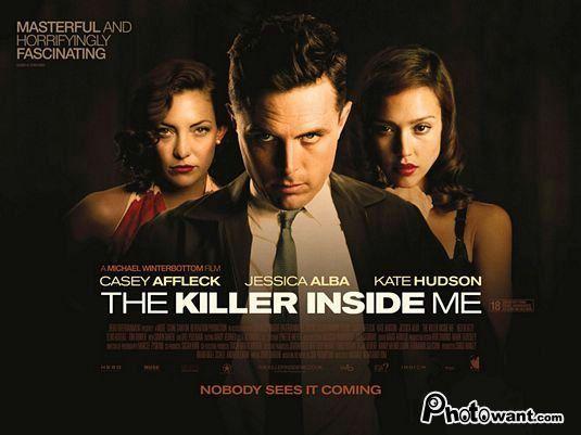 [電影推薦] 魔由心生 The Killer Inside Me 經典犯罪小說呈現心理變態的鄉村人物情結 改編自美國知名犯罪小說家im Thompson 吉姆湯普森(亡命大煞星The Killer Inside Me )的驚悚小說。