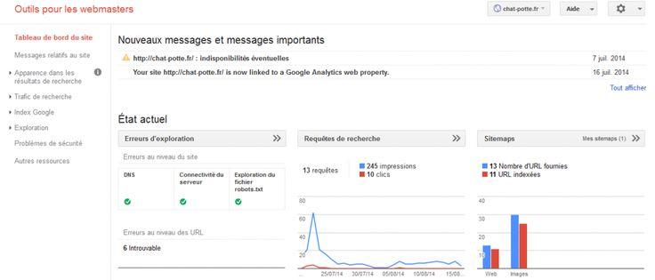 Webmaster Tools, outil de Google, vous permet d'analyser plus en profondeur les données de votre site internet. Couplé à Google Analytics, il fera des merveilles pour votre SEO.