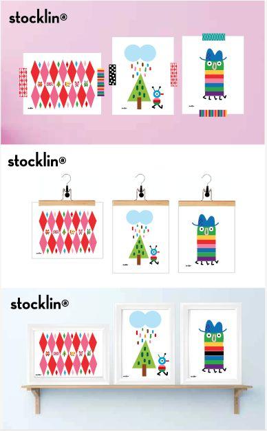 3 ideas para colocar mis ilustraciones. ¡Esa es la actitud!