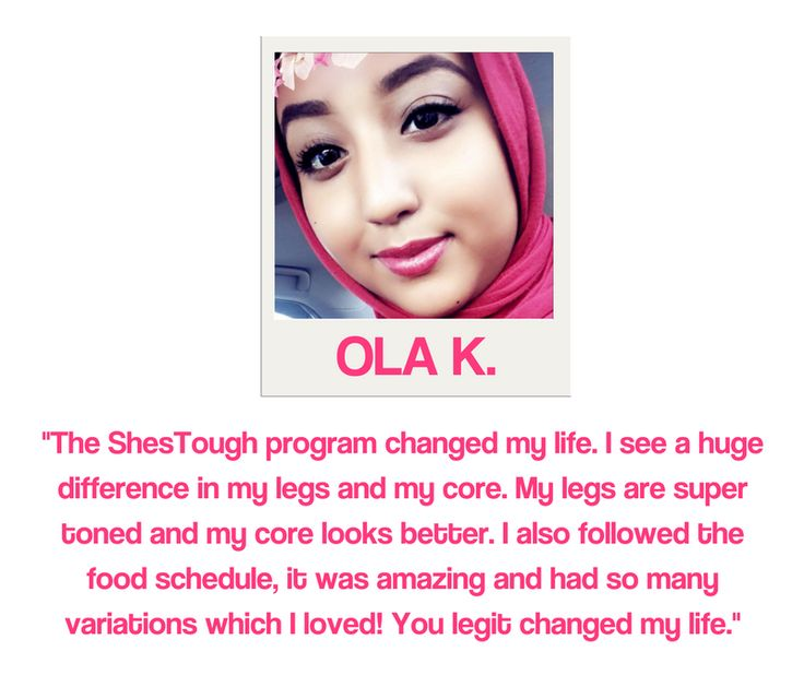 real #shestough testimonial/review - join today at shestough.com