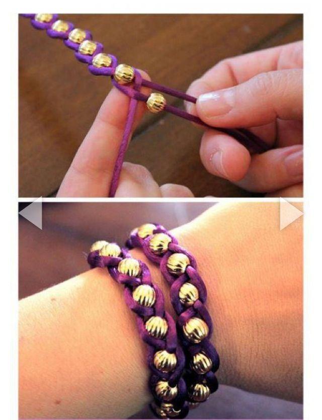 Armband einfach selber basteln