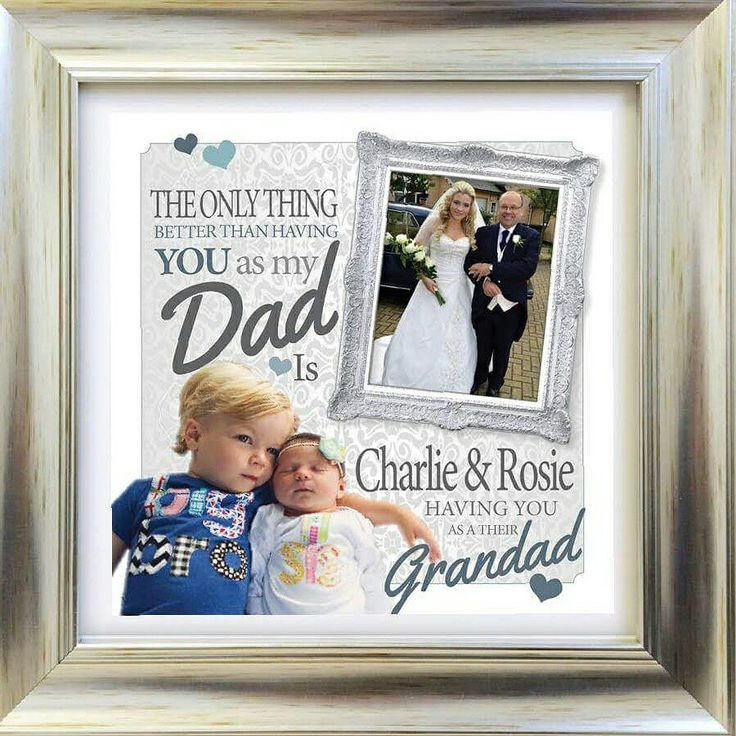 Personalised fathers day gift from  daughter and children