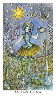 September 4 Tarot Card: The Star (Paulina deck) This is a beautiful time of hope, faith, and positivity. Live and love with all your soul now