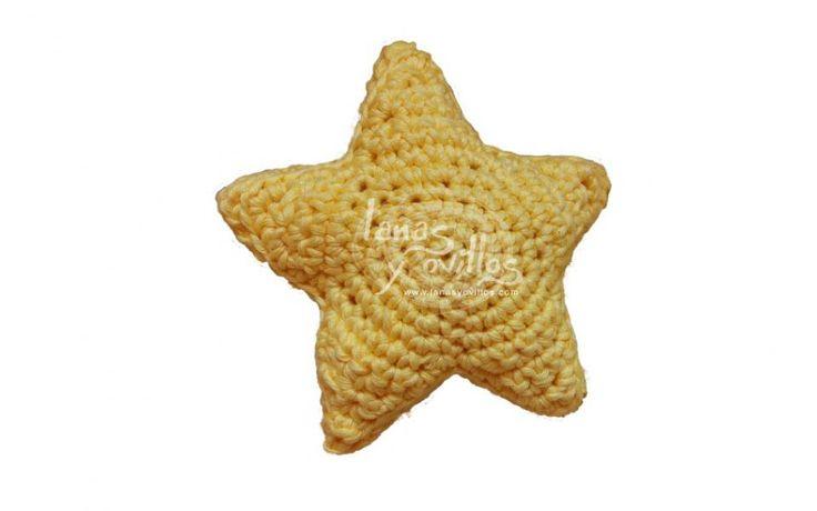 Star amigurumi crochet free pattern patrón gratis