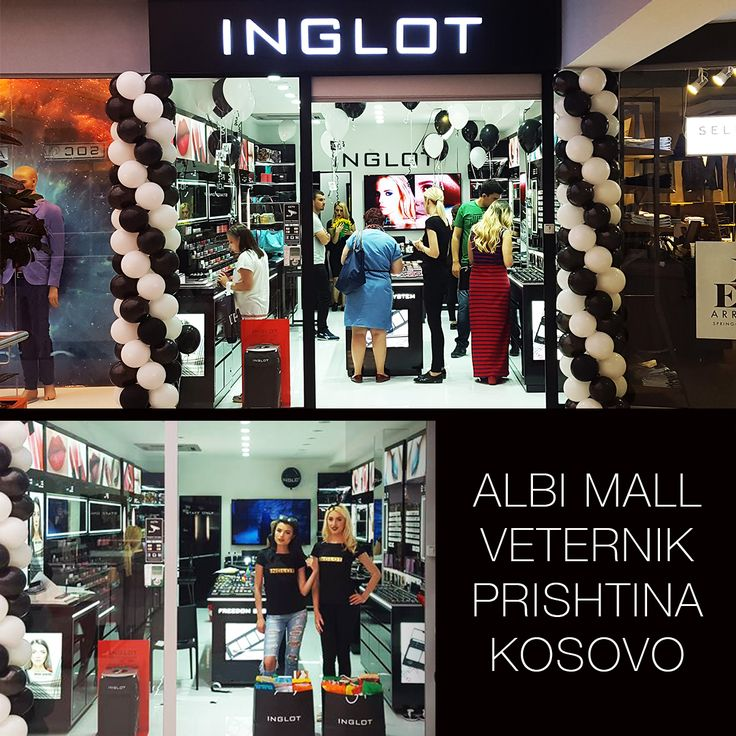 INGLOT store in the capital of Kosovo #inglotworldwide