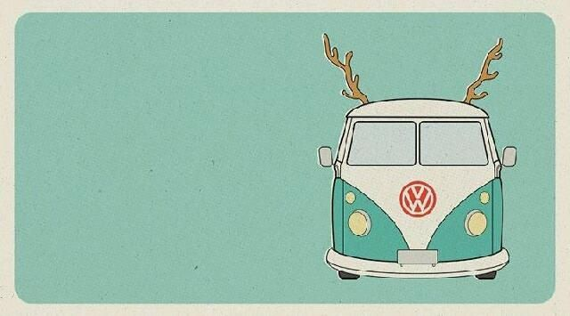 Camper van as a reindeer!!