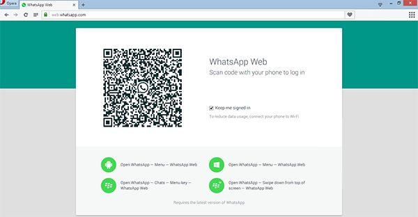 WhatsApp'a Gelen Devrim Gibi Özellik   GormenLazım.Com  WhatsApp yayınladığı son güncelleme ile artık webden de erişime olanak sağlıyor. https://web.whatsapp.com/ adresindeki kodu telefona okutup oturum açabiliyor, buradan rahatça yazışabiliyorsunuz. Artık bu özellikle hiç yazmayan insanlar bile yazmaya başlayacaktır. Yalnız bunu kullanabilmek için whatsApp'ın son sürümünün yüklü olması gerektiğini de hatırlatmış olayım.  Bence bunu yapmakla çok iyi etmiş :) Vatana millete hayırlı olsun :)