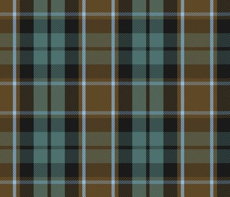 Graham of Menteith tartan XL (weathered) fabric by weavingmajor on Spoonflower - custom fabric