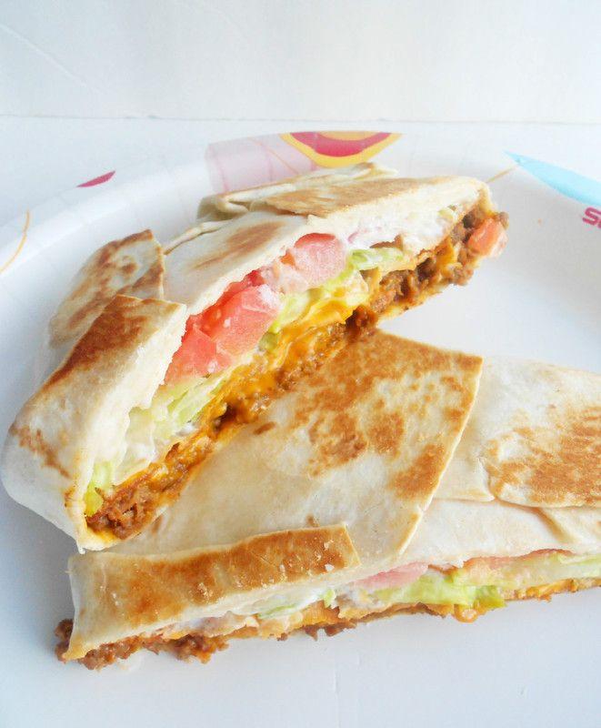 Homemade Crunchwrap Supreme!