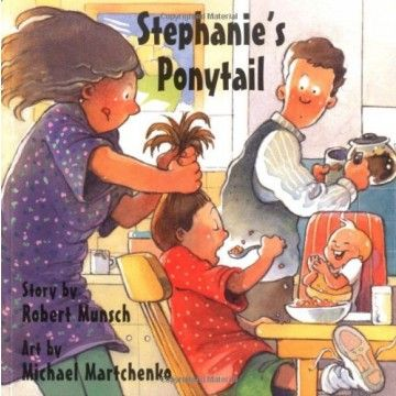 Stephanie's Ponytail - She´s an assertive girl who likes to set her own style and is thoroughly independent; a fabulous book for kids aged 4 and up to encourage self expression and confidence.