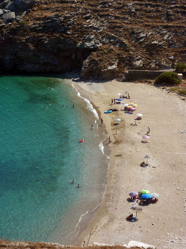 Sykamia beach, Kea