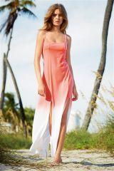 Jersey Dip Dye Maxi Dress (900608X55)   £32