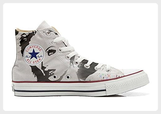 Converse Customized Adulte - chaussures coutume (produit artisanal) Hot Colore Paisley size 35 EU