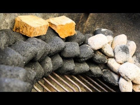 how to start a charcoal bbq youtube