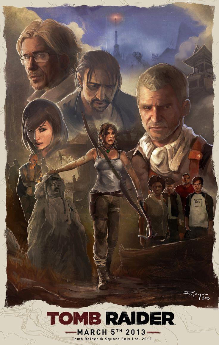Tomb Raider by PapayouFR.deviantart.com on @deviantART